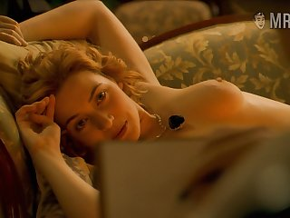 Mesmerizing coupled with eye catching actress Kate Winslet everywhere some abut on scenes
