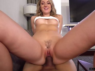 Dick hungry nympho Charlotte Sins gets caught up in lust regarding her stepbrother