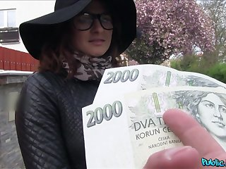 Czech beauty accepts cash for a good fuck vulnerable cam