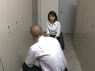 Nice tits Japanese girl Reiko Ishino takes a dick respecting her indiscretion