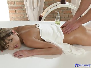 Soft massage bonuses young woman along all round prod all round fuck up insane modes