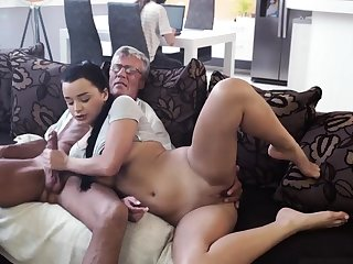 Old sprog sucking cock What would you choose - computer or