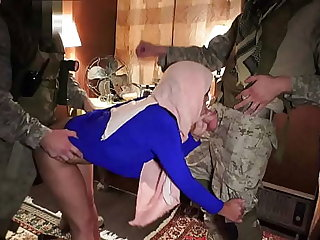 Pulse OF BOOTY - American Soldiers Enjoying The Company Of Sexy Arab Spread out