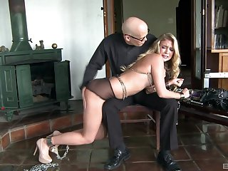 Zoey Taylor finds herself controlled by an exacting Dom