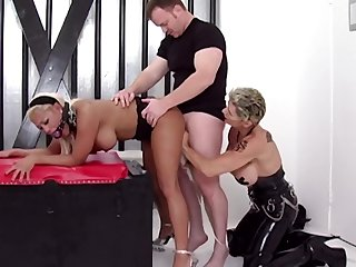 Unconventional mature sluts threesome porn